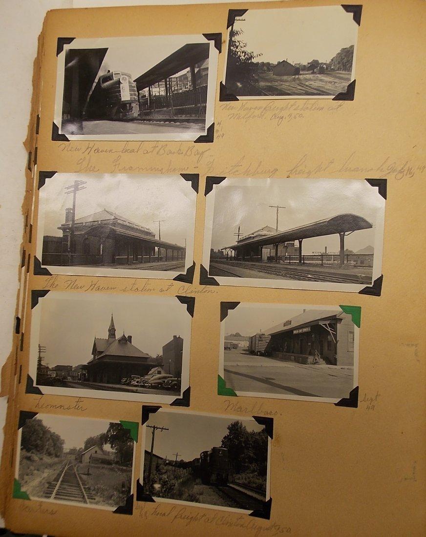 Old Boston & Maine Photo Scrapbook (450+) - 6