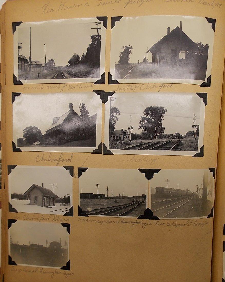 Old Boston & Maine Photo Scrapbook (450+) - 7