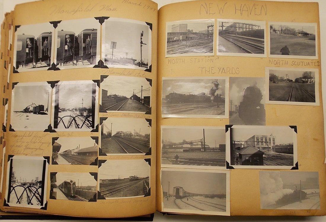 Old Boston & Maine Photo Scrapbook (450+) - 8