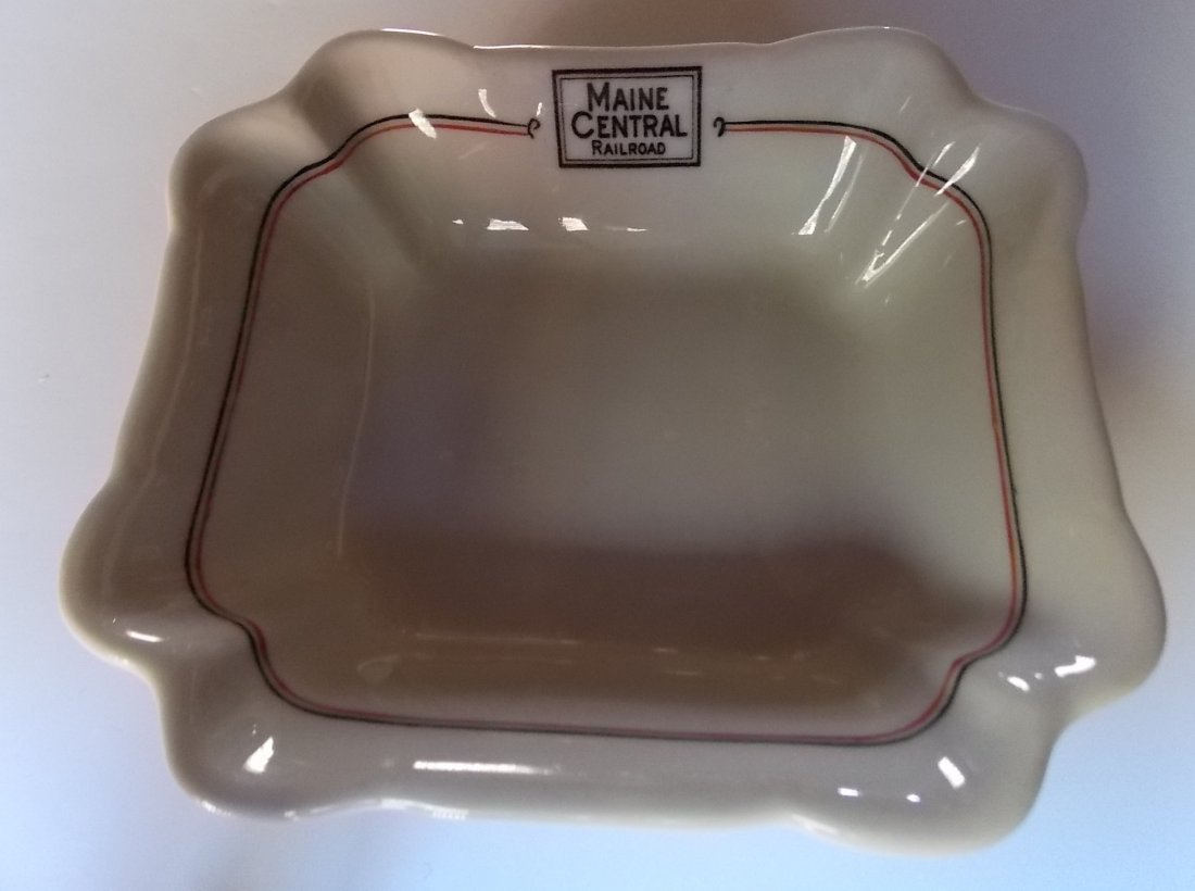 "Maine Central ""Bangor"" Pattern China Dish"