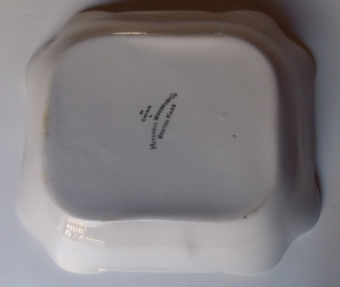 "Maine Central ""Bangor"" Pattern China Dish - 3"