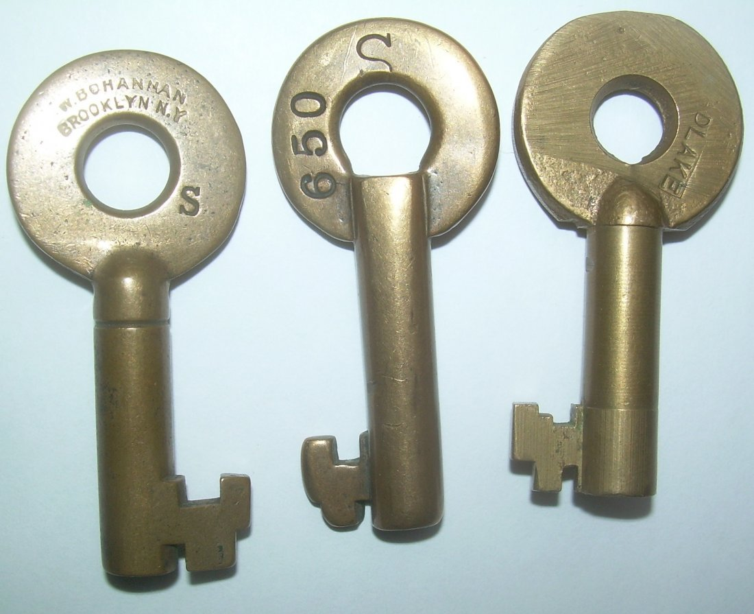 3 Rust Belt Switch Keys: NYC P&S EL - 2