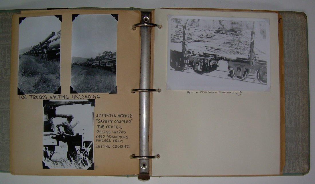 White Mountain Logging Railroads Scrap Book - 3