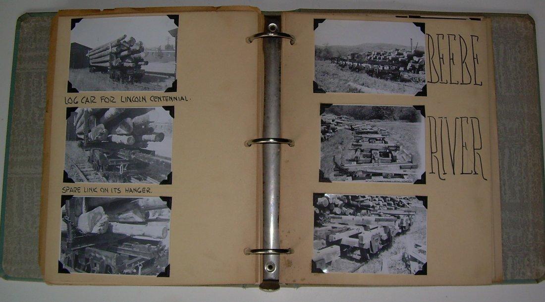 White Mountain Logging Railroads Scrap Book - 4