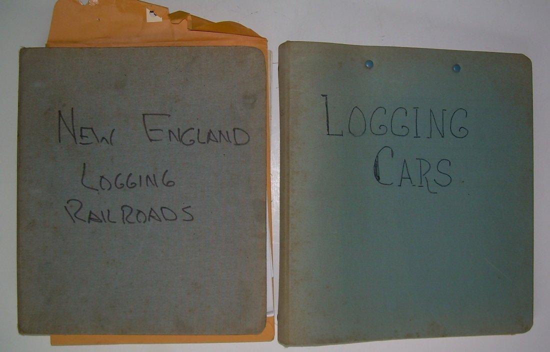 White Mountain Logging Railroads Scrap Book - 5