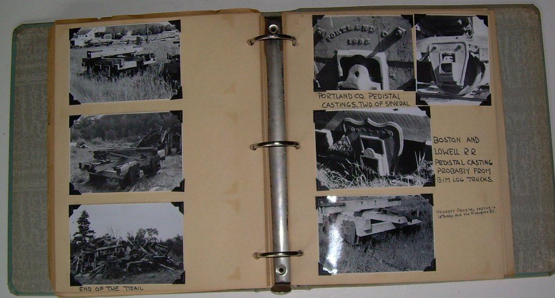 White Mountain Logging Railroads Scrap Book - 6