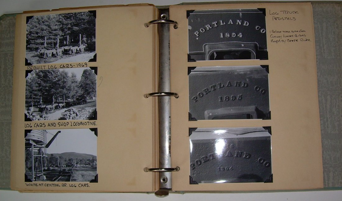 White Mountain Logging Railroads Scrap Book - 7