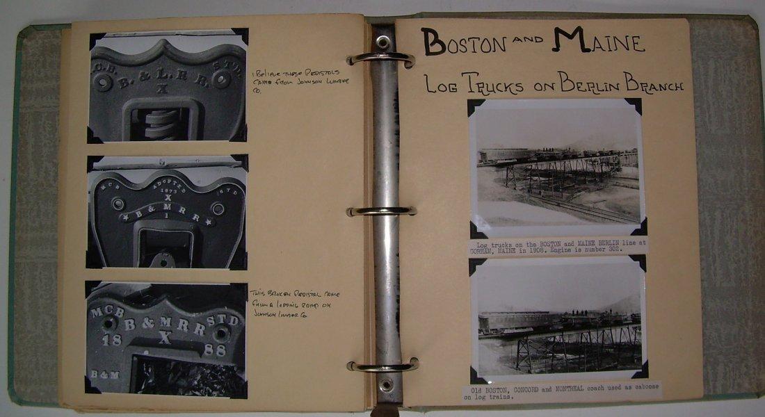 White Mountain Logging Railroads Scrap Book - 8
