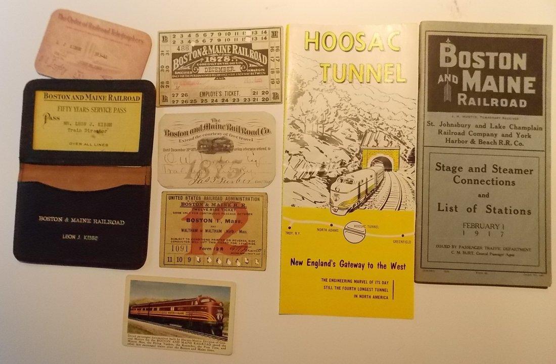 Boston & Maine Railroad Ephemera