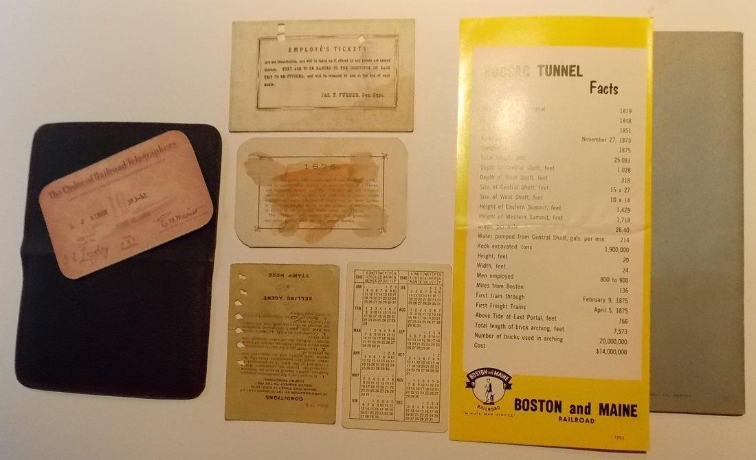 Boston & Maine Railroad Ephemera - 2