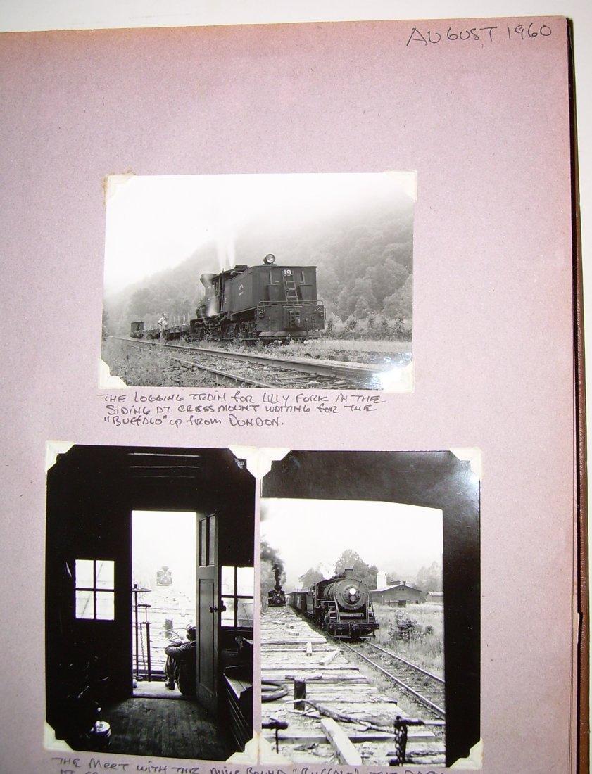 West Virginia Cass Logging Railroads Scrapbook - 2
