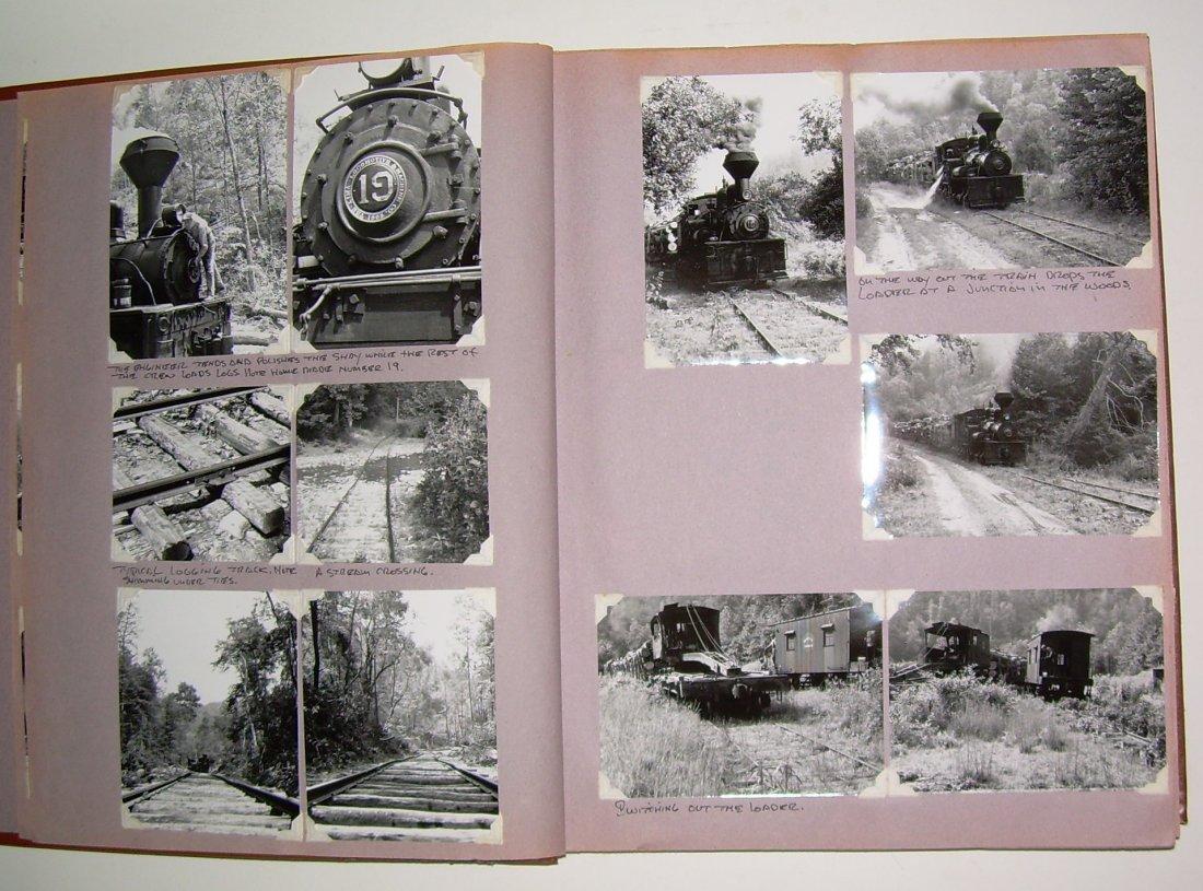 West Virginia Cass Logging Railroads Scrapbook - 4