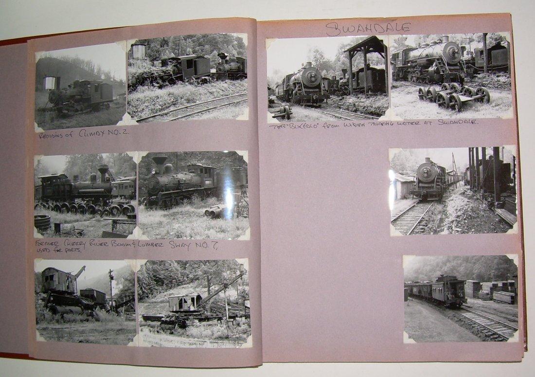West Virginia Cass Logging Railroads Scrapbook - 5