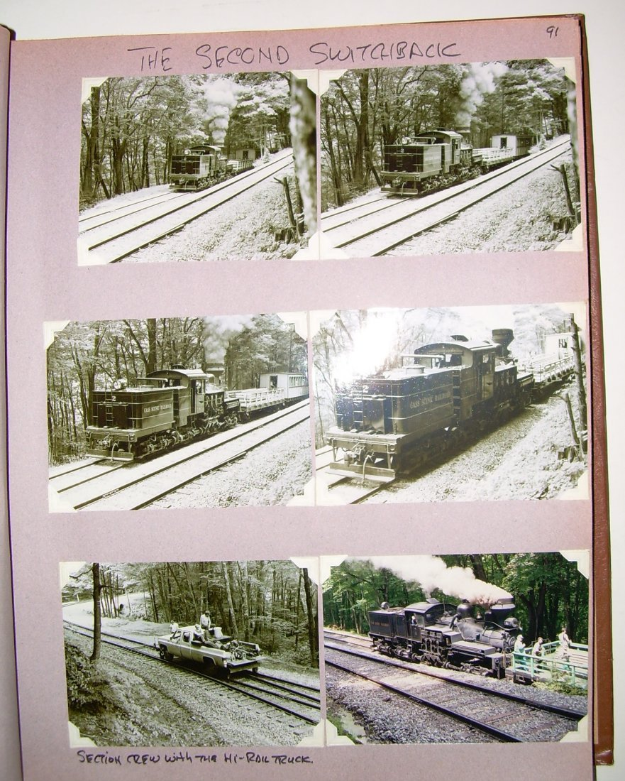 West Virginia Cass Logging Railroads Scrapbook - 6