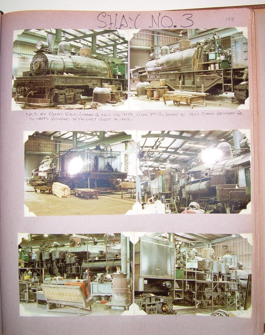 West Virginia Cass Logging Railroads Scrapbook - 7