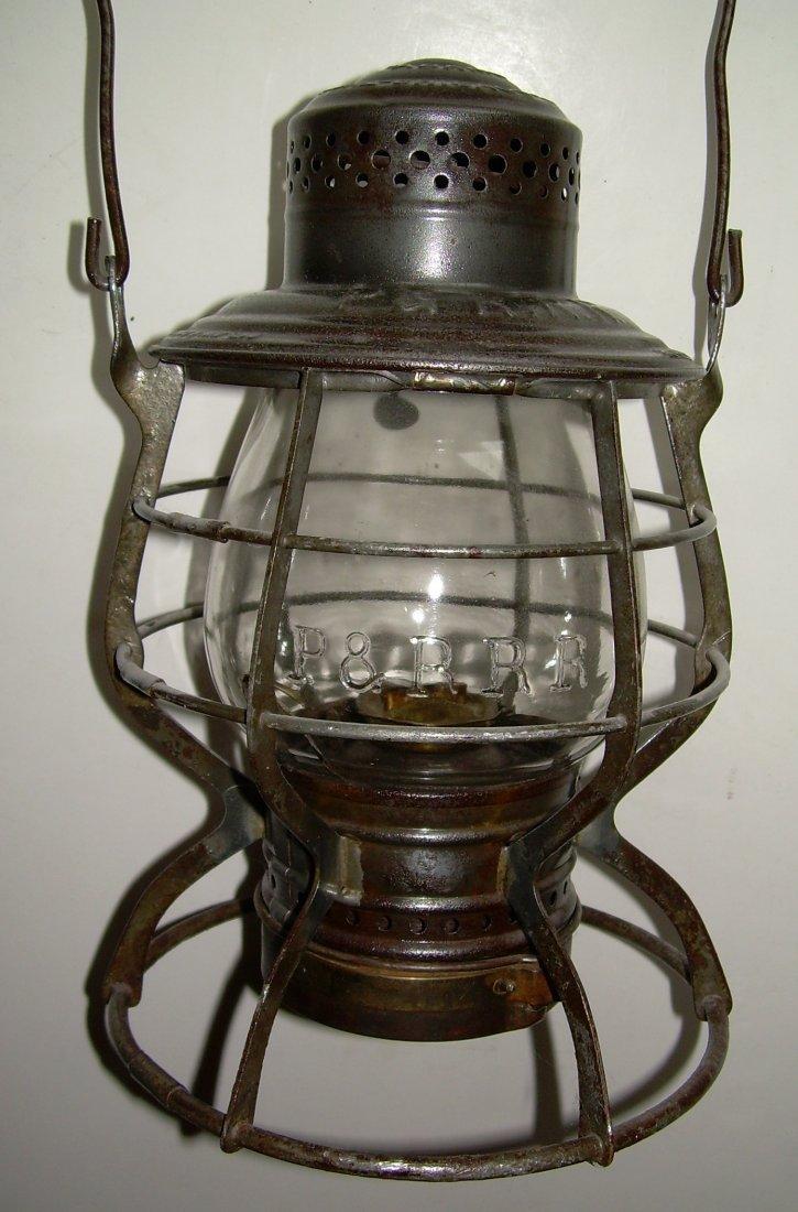 Philadelphia & Reading Adams Lantern - Broken EB globe