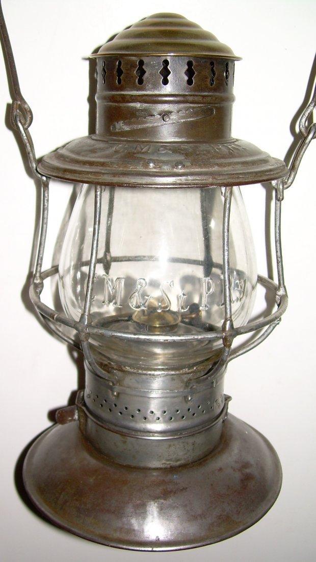 CM&StP RY Brasstop Bellbottom Lantern