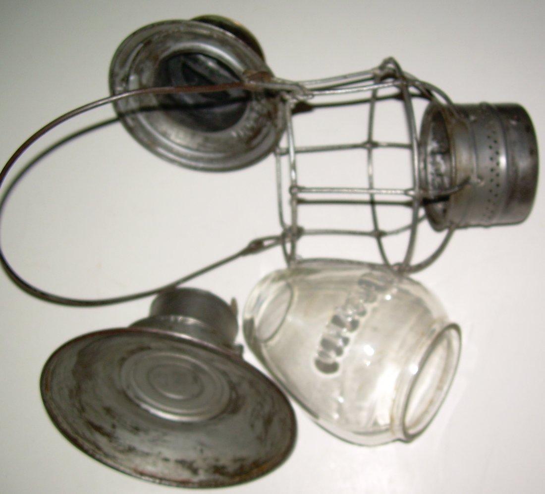 CM&StP RY Brasstop Bellbottom Lantern - 6