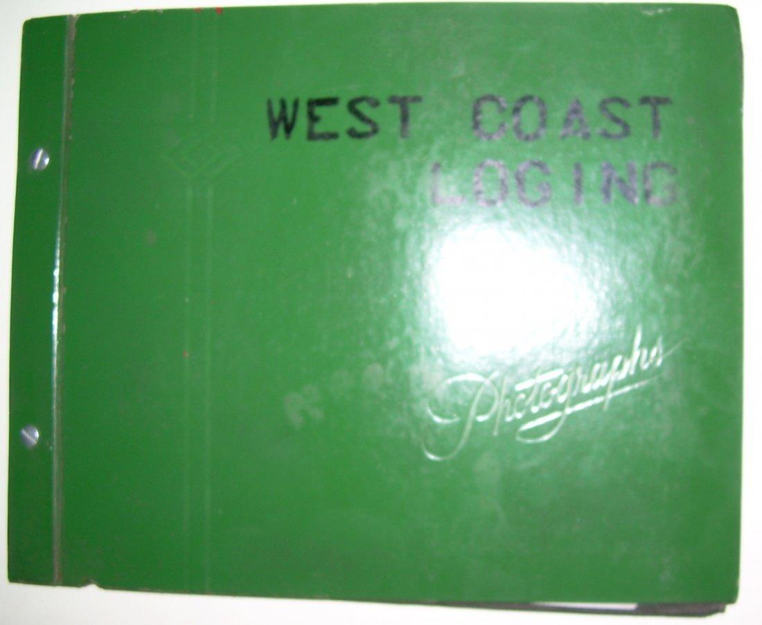 Western Logging Railroad Scrapbook Photos