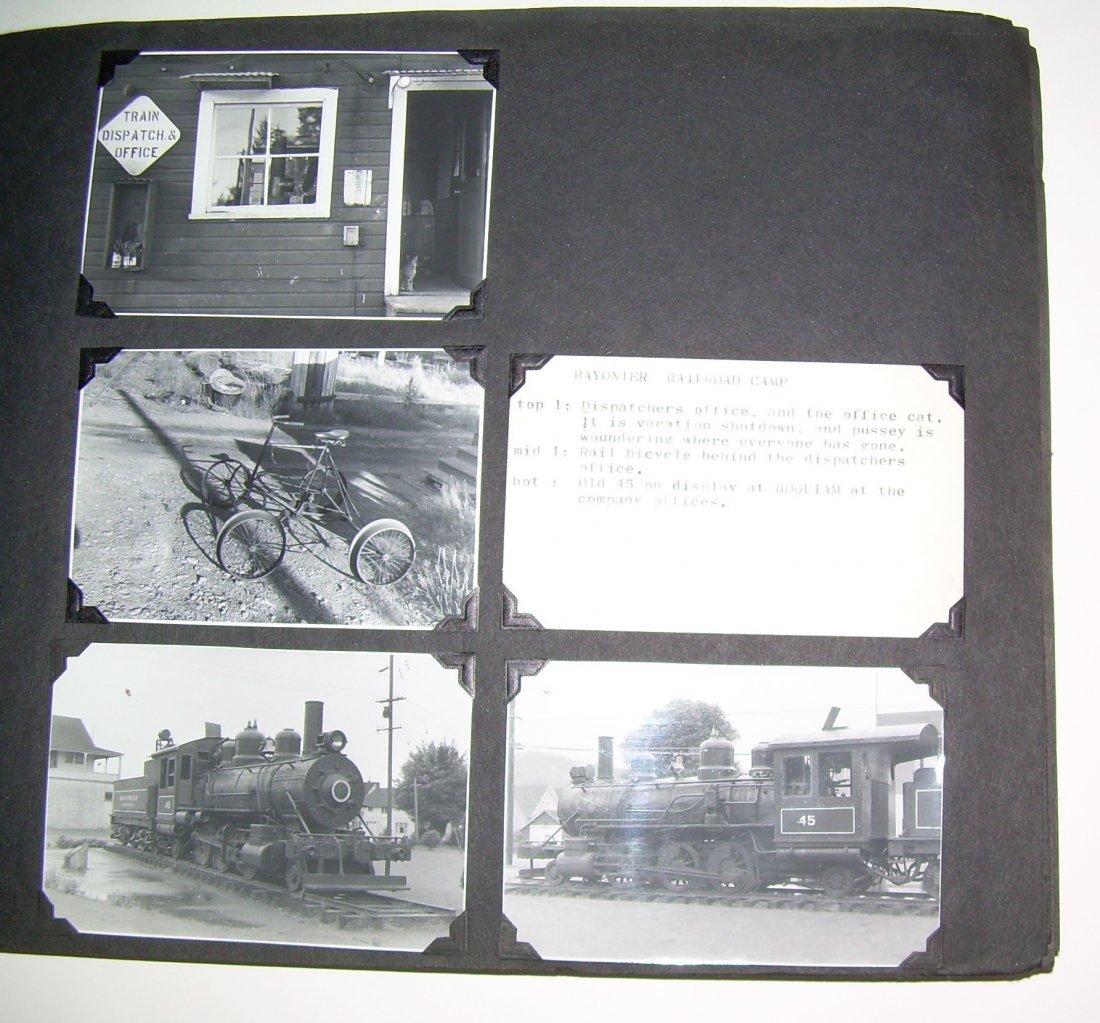 Western Logging Railroad Scrapbook Photos - 2