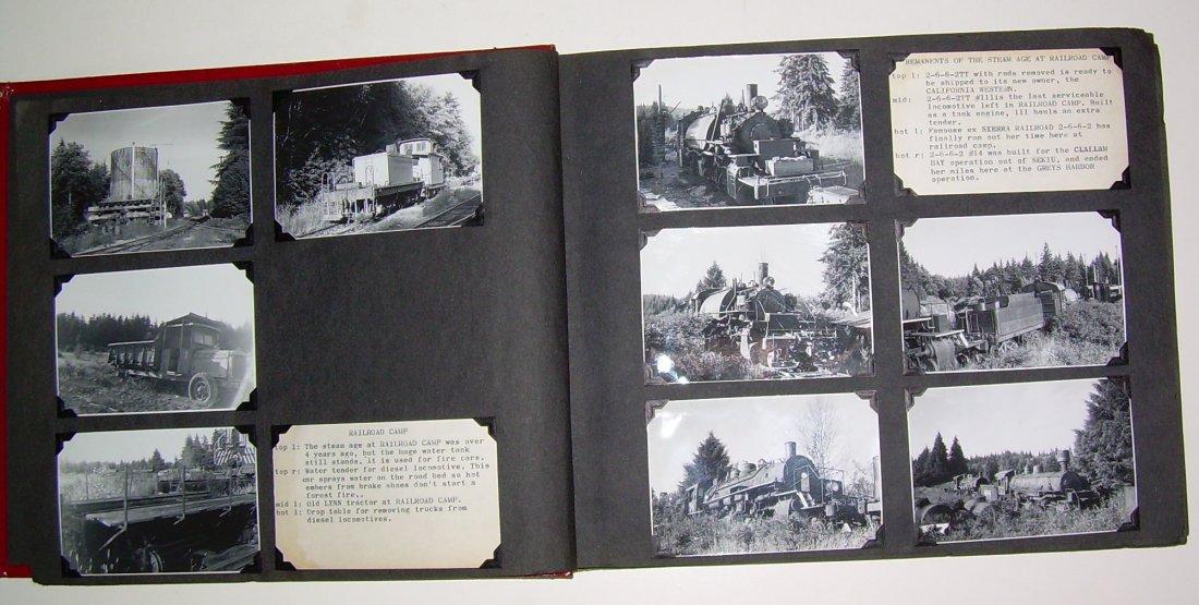 Western Logging Railroad Scrapbook Photos - 3