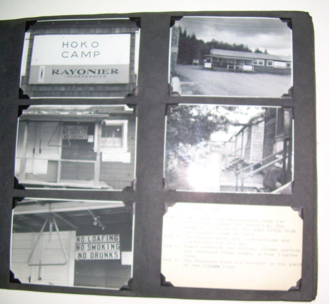 Western Logging Railroad Scrapbook Photos - 4