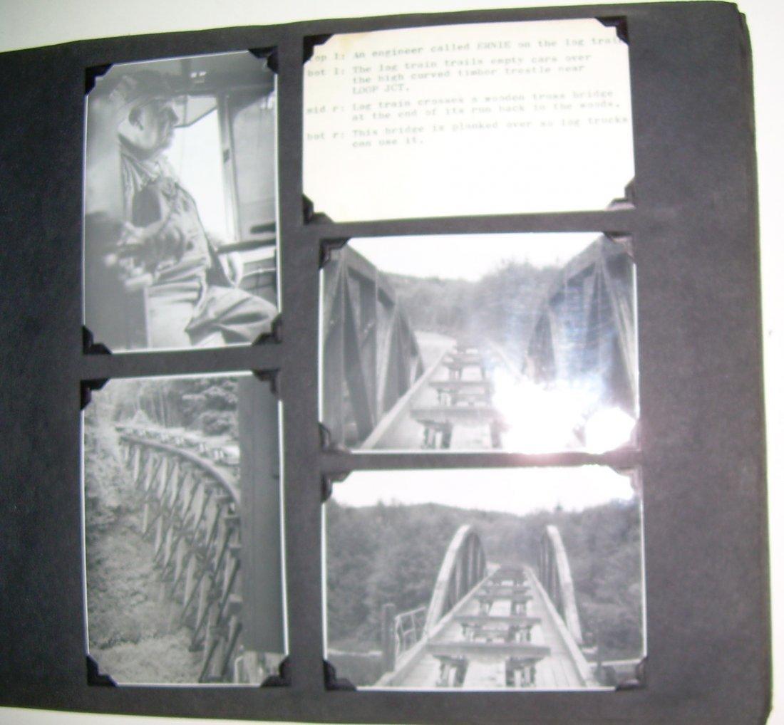 Western Logging Railroad Scrapbook Photos - 5