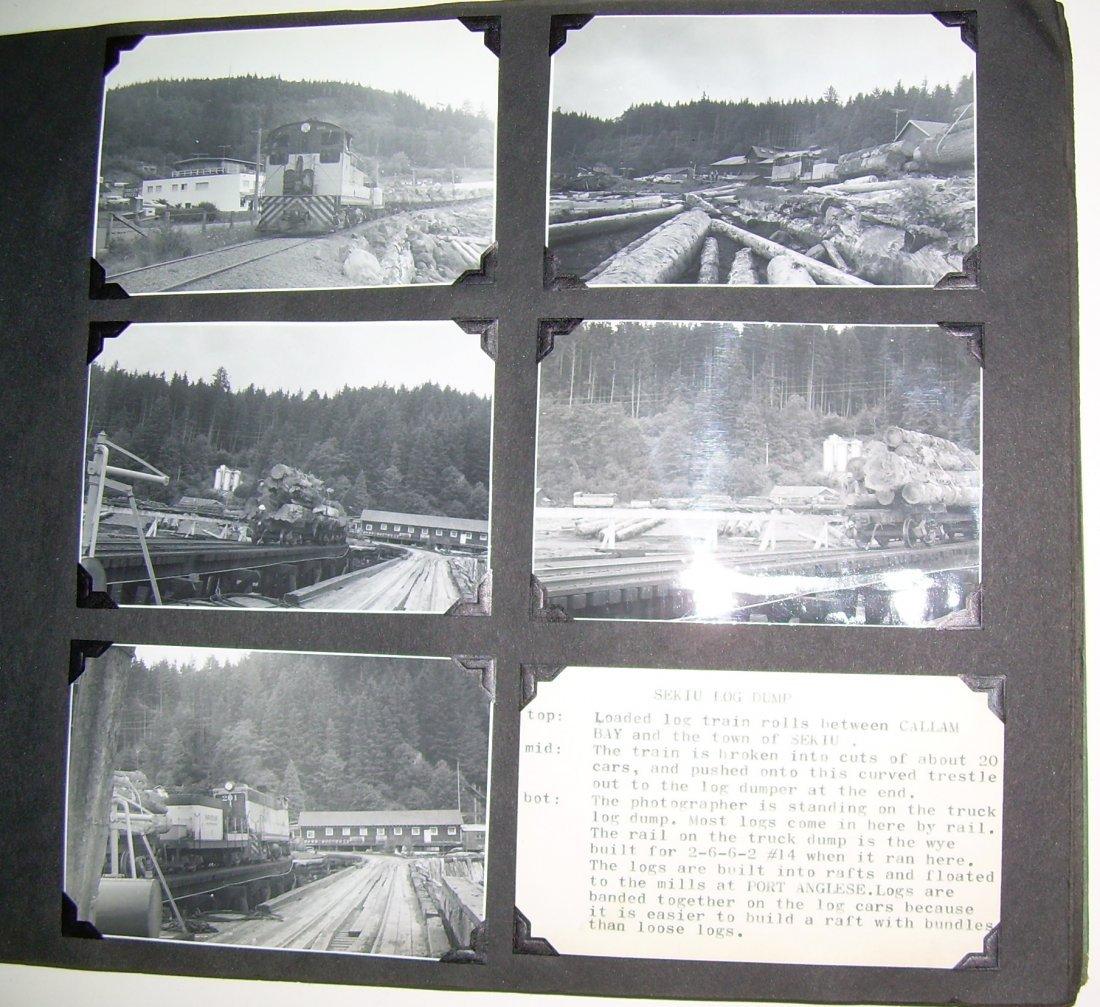 Western Logging Railroad Scrapbook Photos - 6