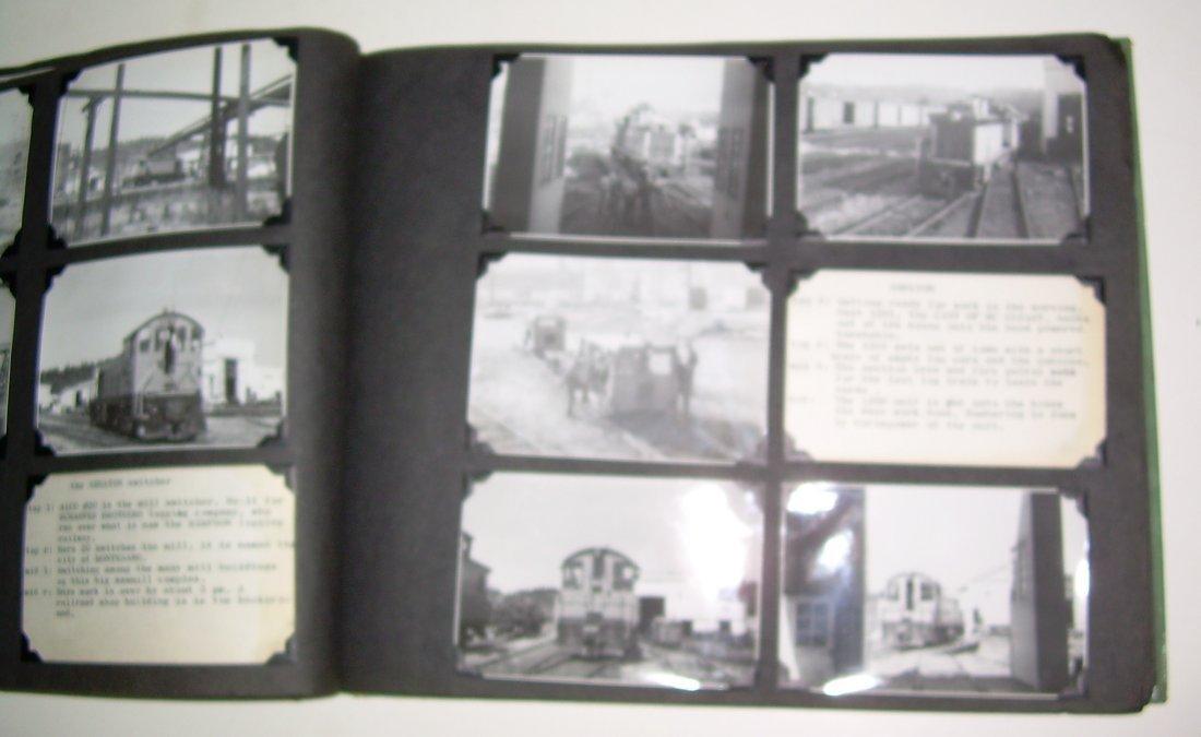 Western Logging Railroad Scrapbook Photos - 7