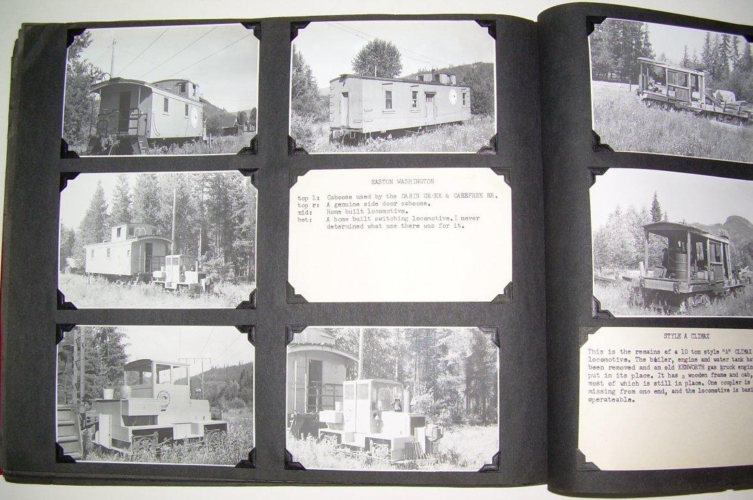 Western Logging Railroad Scrapbook Photos - 8
