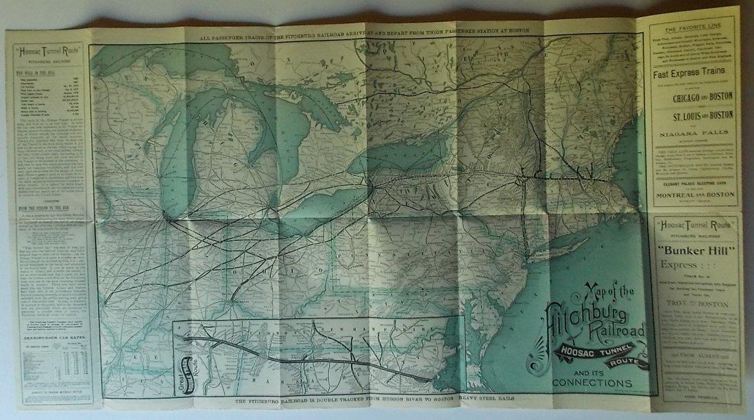 Fitchburg Railroad Timetables 1897 1899 - 2