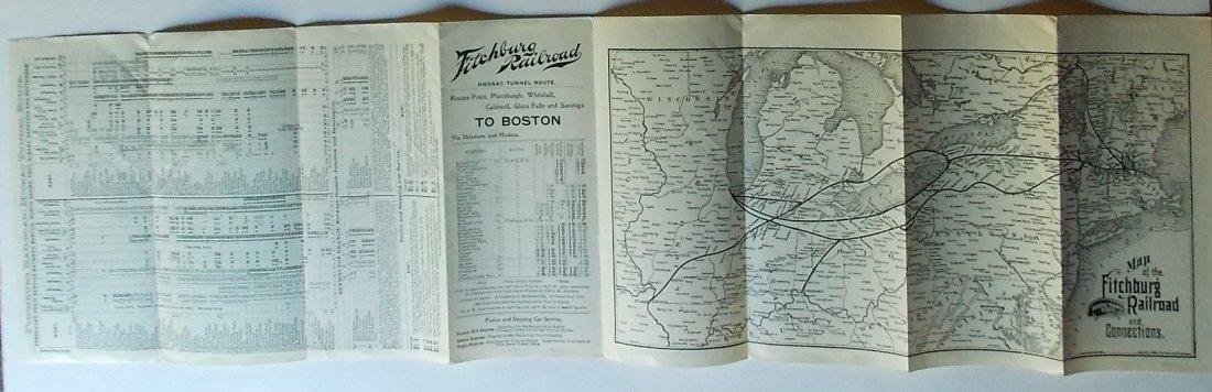 Fitchburg Railroad Timetables 1897 1899 - 3