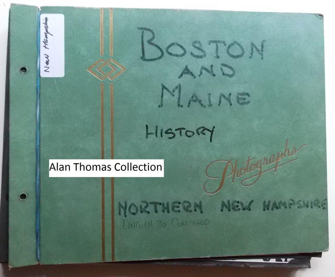 Boston & Maine Scrapbook - New Hampshire