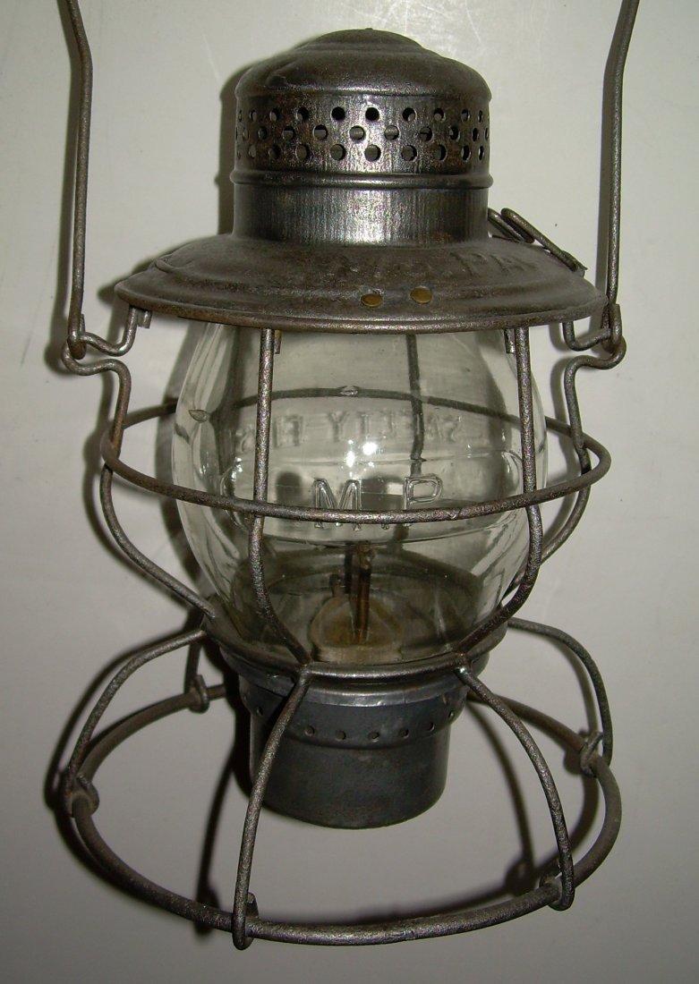 MoPac Handlan Tall Globe Lantern Clear Cast Globe