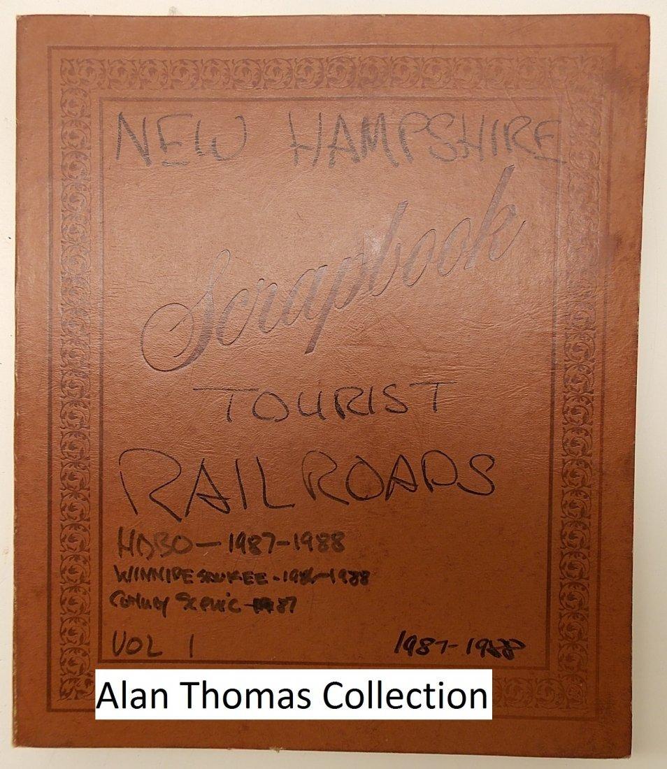 New Hampshire Tourist Railroad Scrapbook