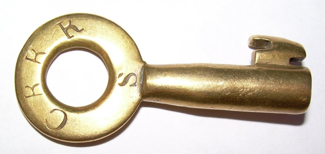 Connecticut River Railroad Slaight Switch key
