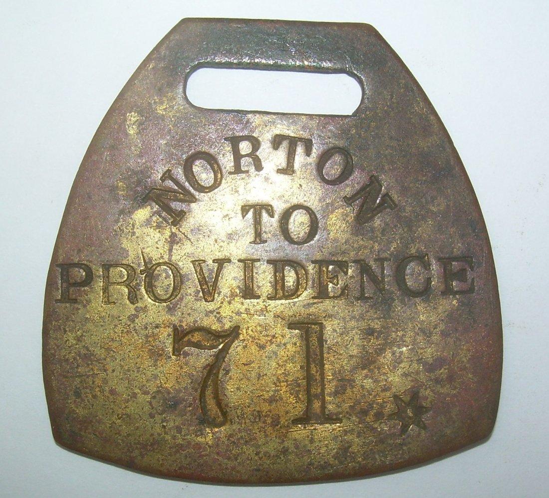 Norton & Providence Baggage Tag
