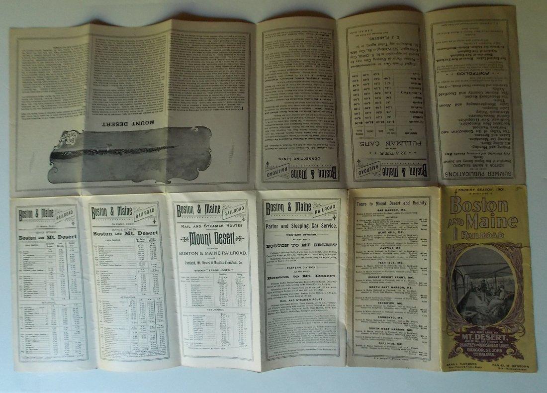 Bar Harbor Maine Timetables 1901 1906 - 2