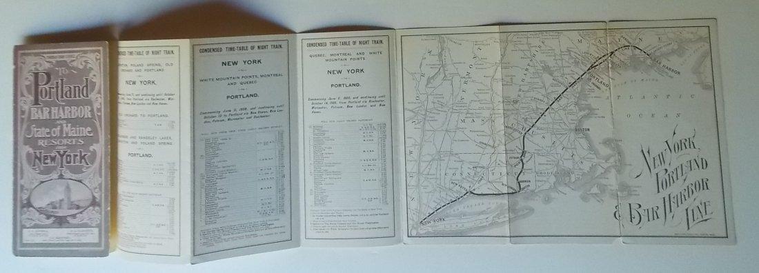 Bar Harbor Maine Timetables 1901 1906 - 3
