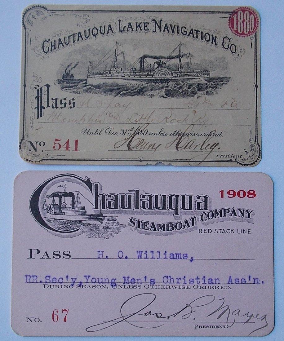 Chautaugua Lake Annual Passes (2)