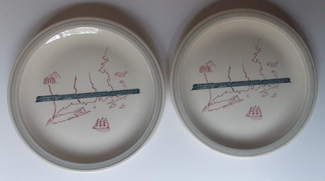 New Haven Merchants Pattern Plates (2)