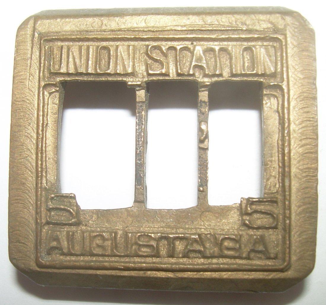 Augusta Georgia Union Station Dater Die - 2
