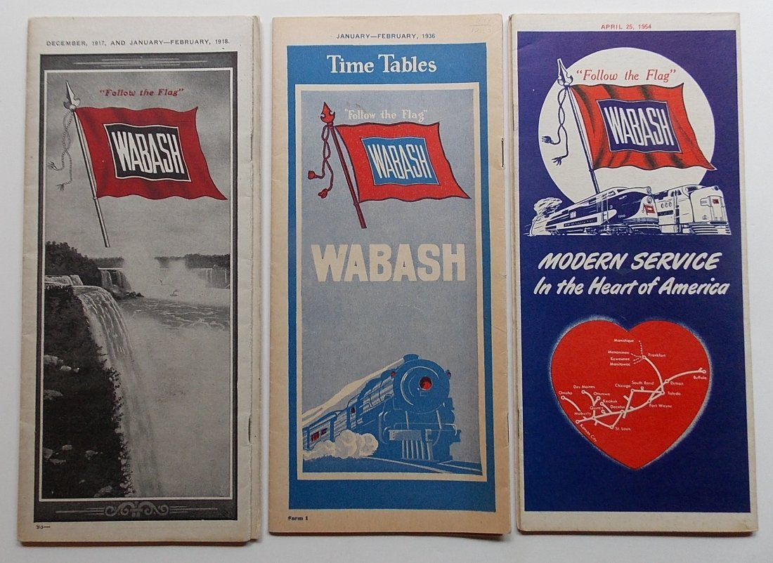 Wabash Railroad Timetables (3)