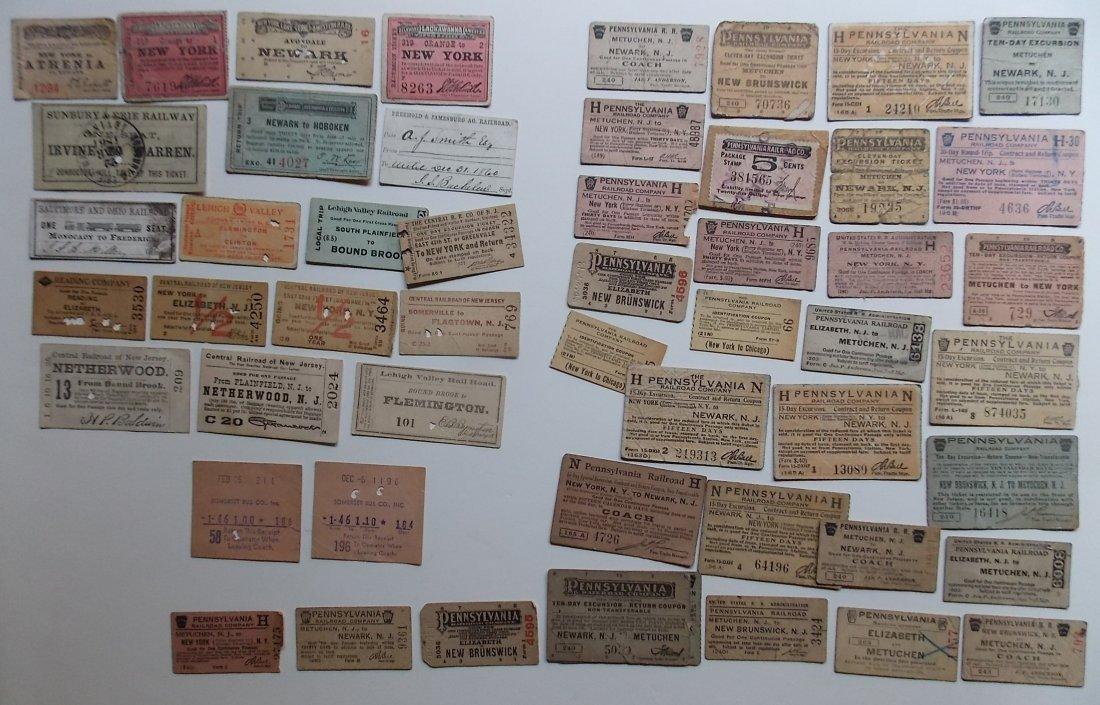 Mid Atlantic States Tickets (50)