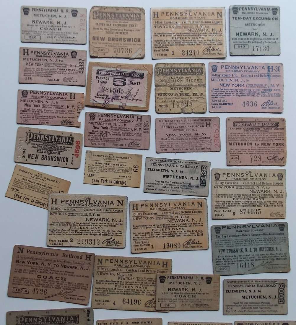 Mid Atlantic States Tickets (50) - 3