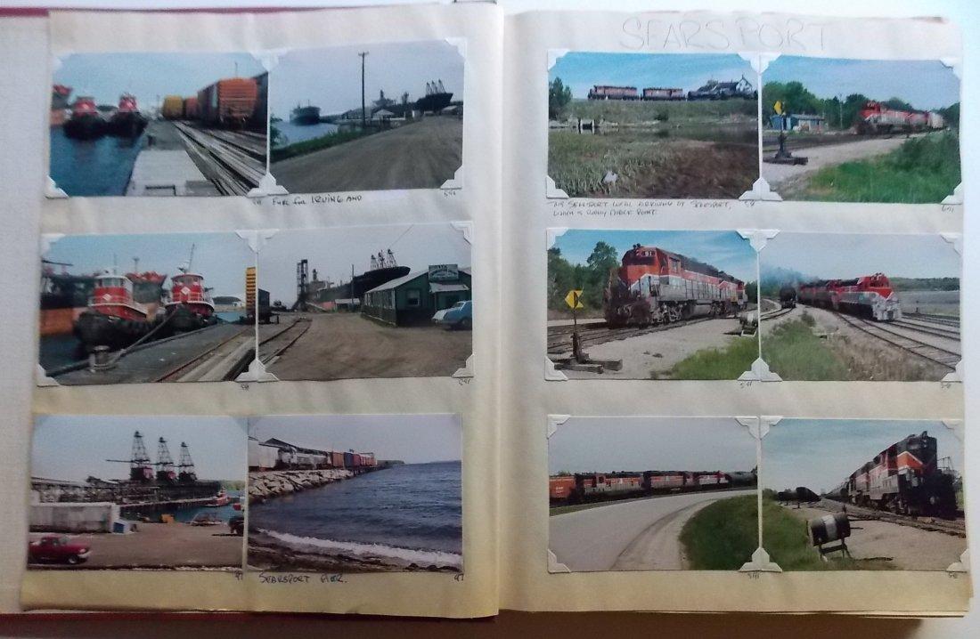 Bangor & Aroostook Railroad Scrapbook - 2