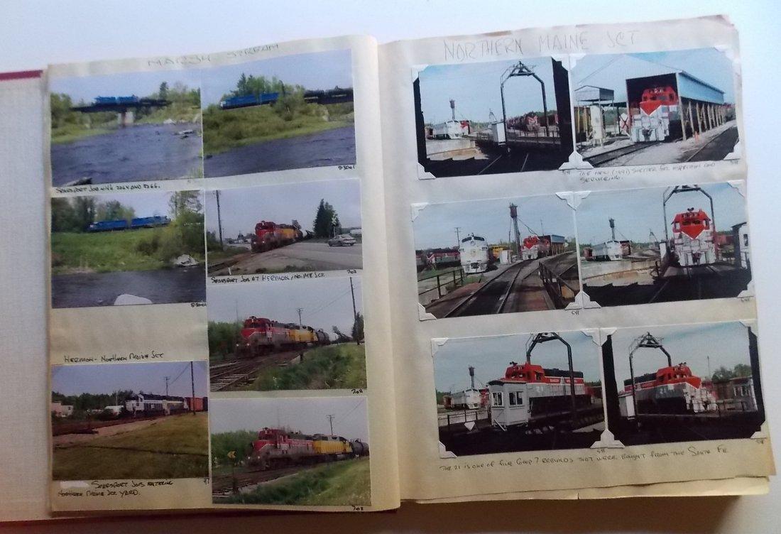 Bangor & Aroostook Railroad Scrapbook - 3