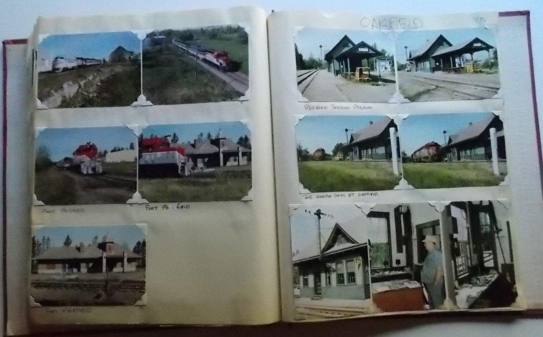 Bangor & Aroostook Railroad Scrapbook - 4