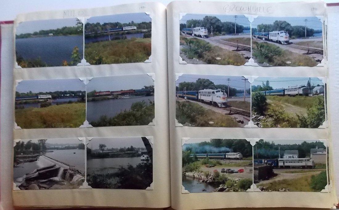 Bangor & Aroostook Railroad Scrapbook - 6