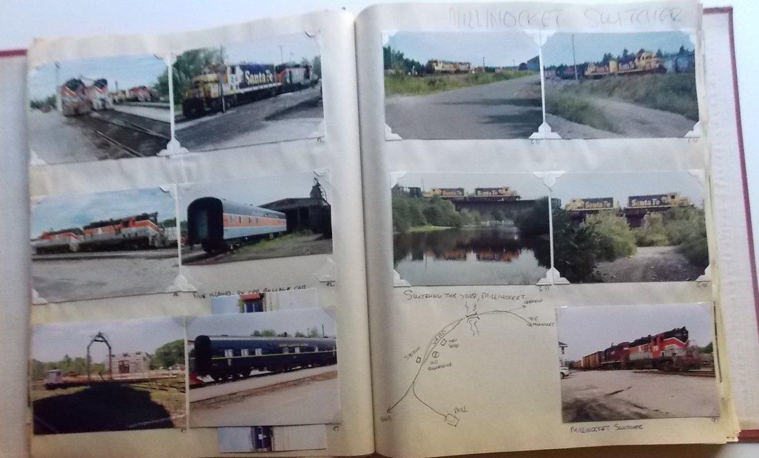 Bangor & Aroostook Railroad Scrapbook - 7